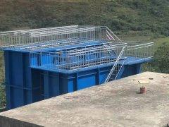贵州贵阳一体化净水器设备安装完成