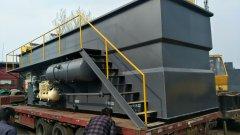 中侨环境推出新型折板一体化气浮机设备
