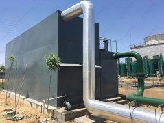 一体化净水设备工作流程